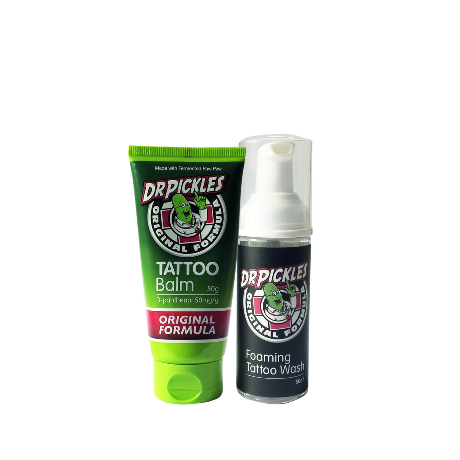 Dr Pickles Tattoo Balm 50g And Foaming Tattoo Wash Tattcare Limited