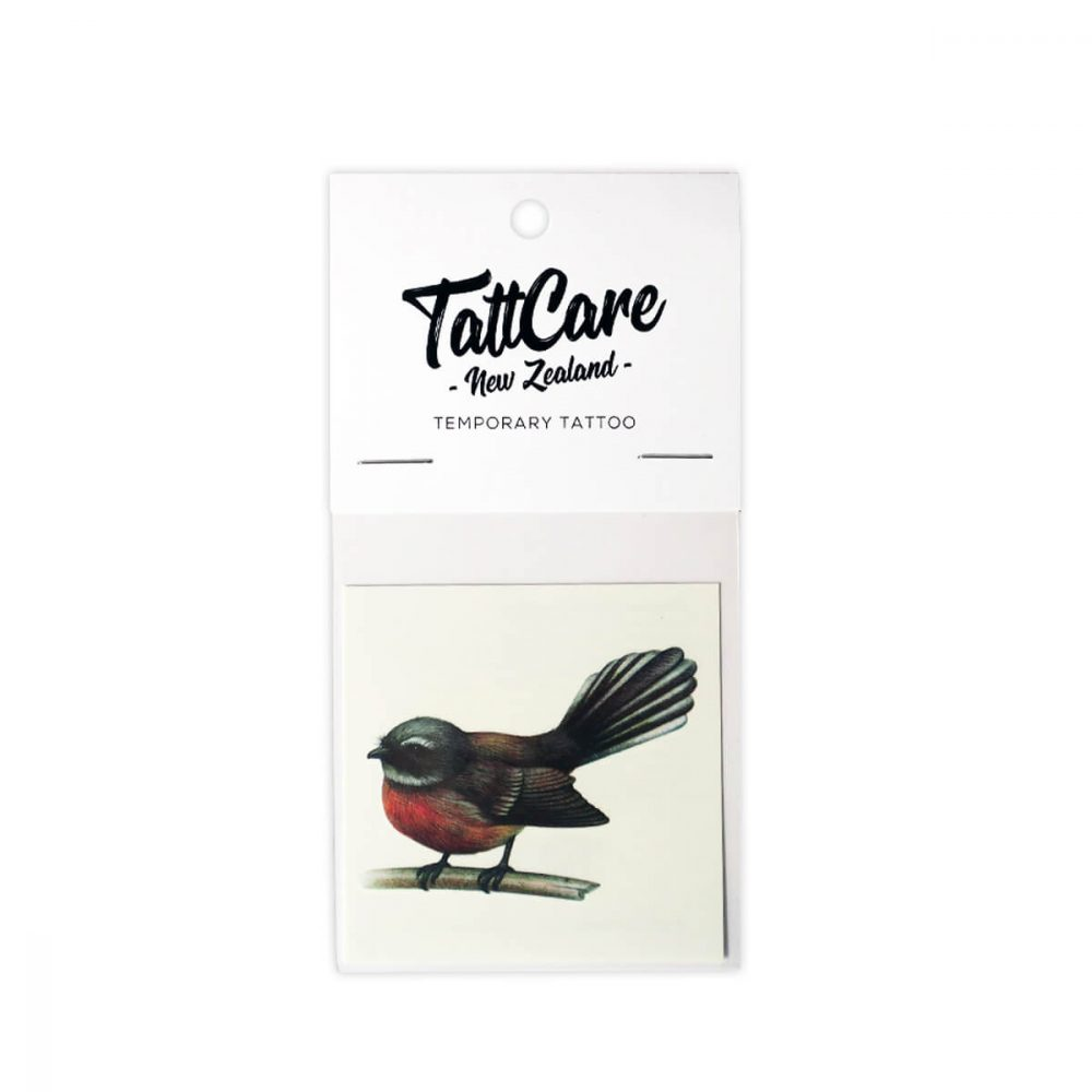 Fantail Temporary Tattoo NZ