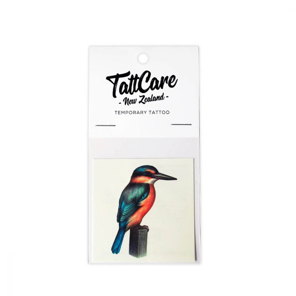 Kingfisher Temporary Tattoo NZ