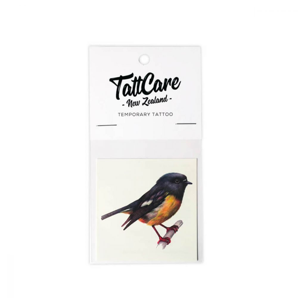 Tomtit Temporary Tattoo NZ