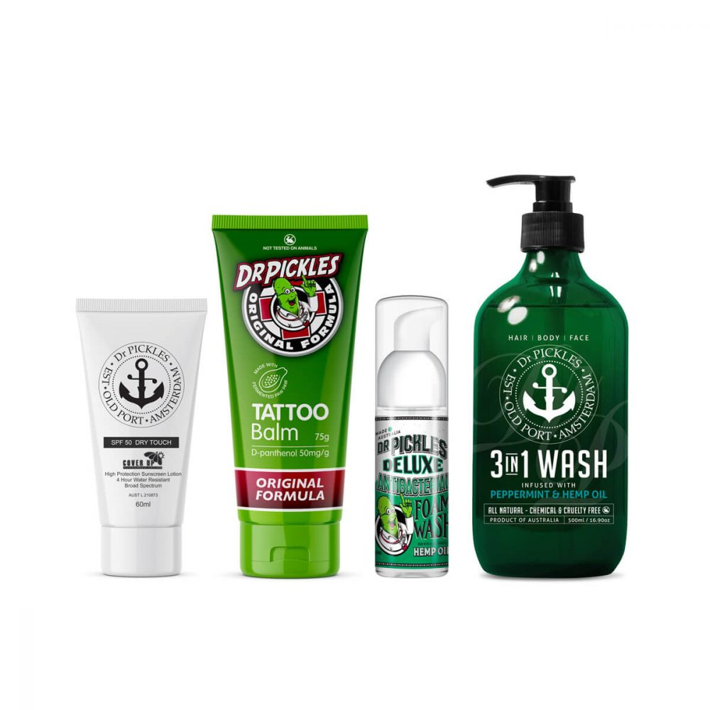 Tattoo Aftercare Pack